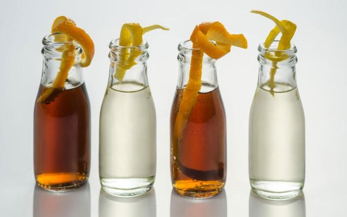bottigliette di vetro