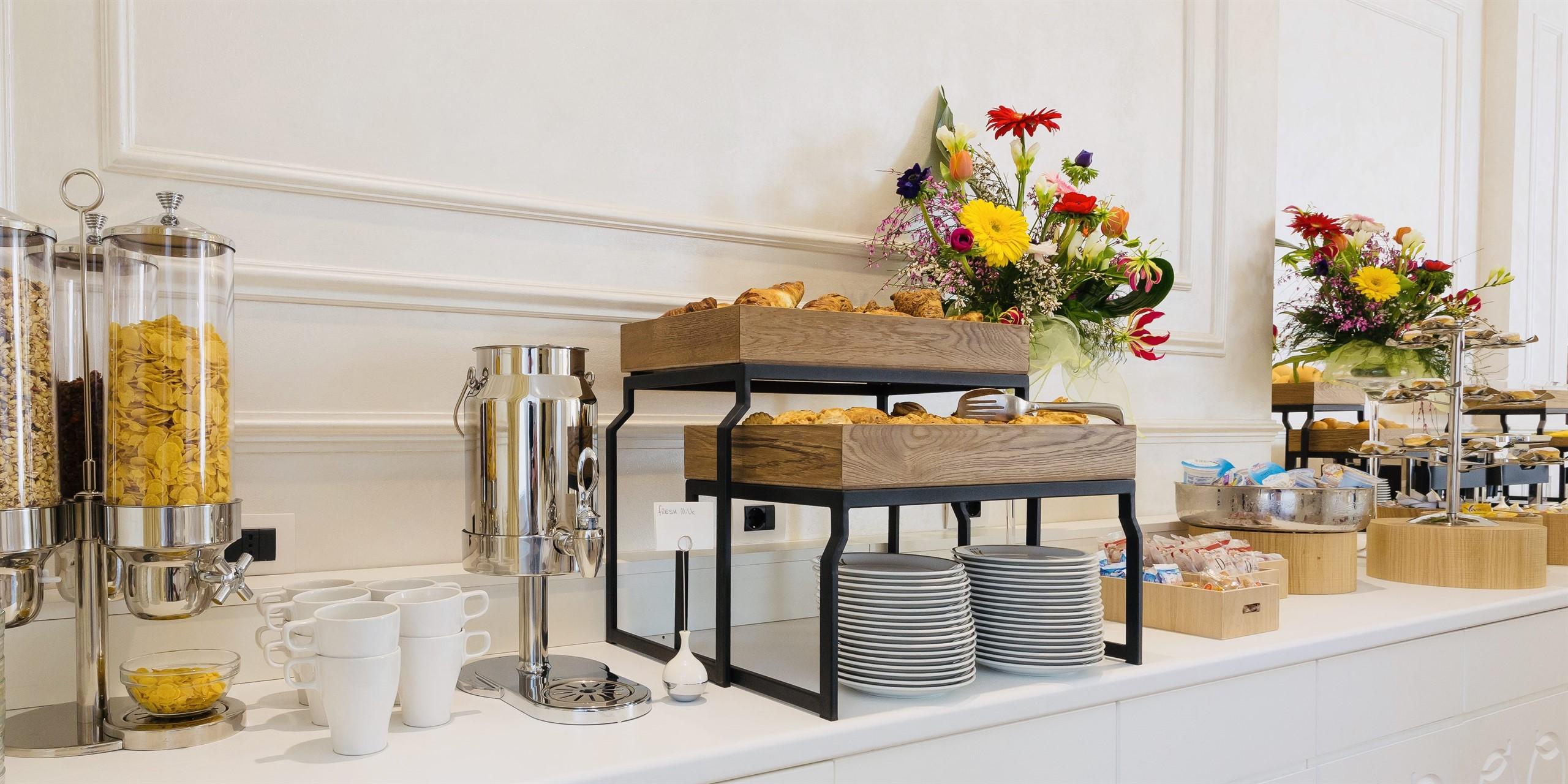 buffet per colazione forniture alberghiere yegam