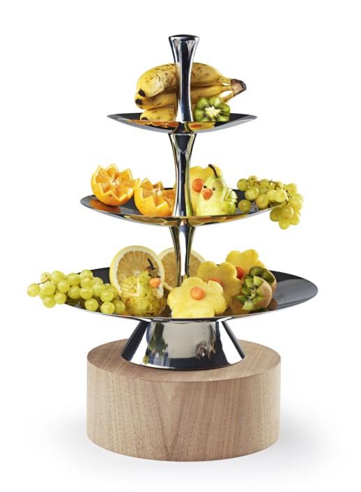 come esporre la frutta in ambiente moderno