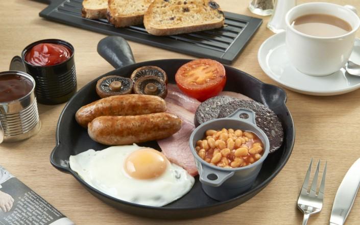servizio per colazione in hotel in melamina