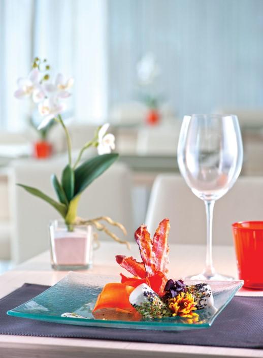 presentazione tavola ristorante