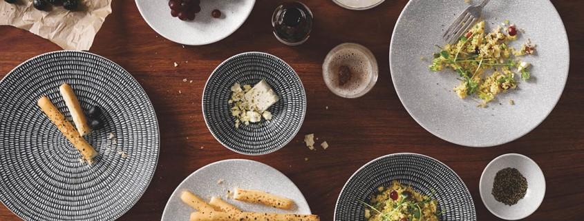 piatti stoviglie e porcellane per ristoranti gourmet